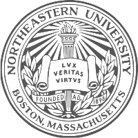 northeastern university boston logo