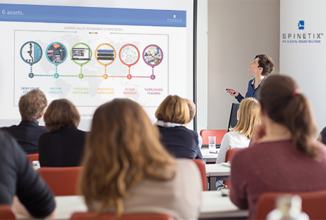 digital signage webinars and training sessions from spinetix