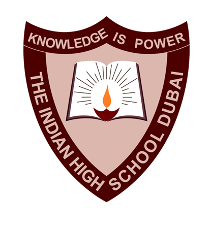 indian high school dubai logo