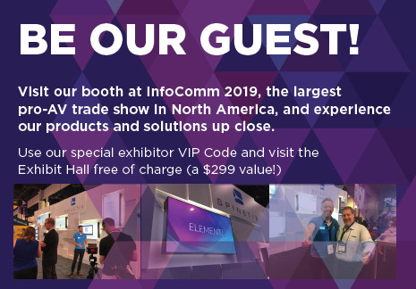 be our guest spinetix at infocomm
