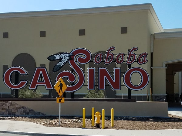 soboba resort casino and golf building
