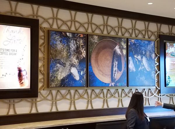 spinetix lobby screens at soboba resort
