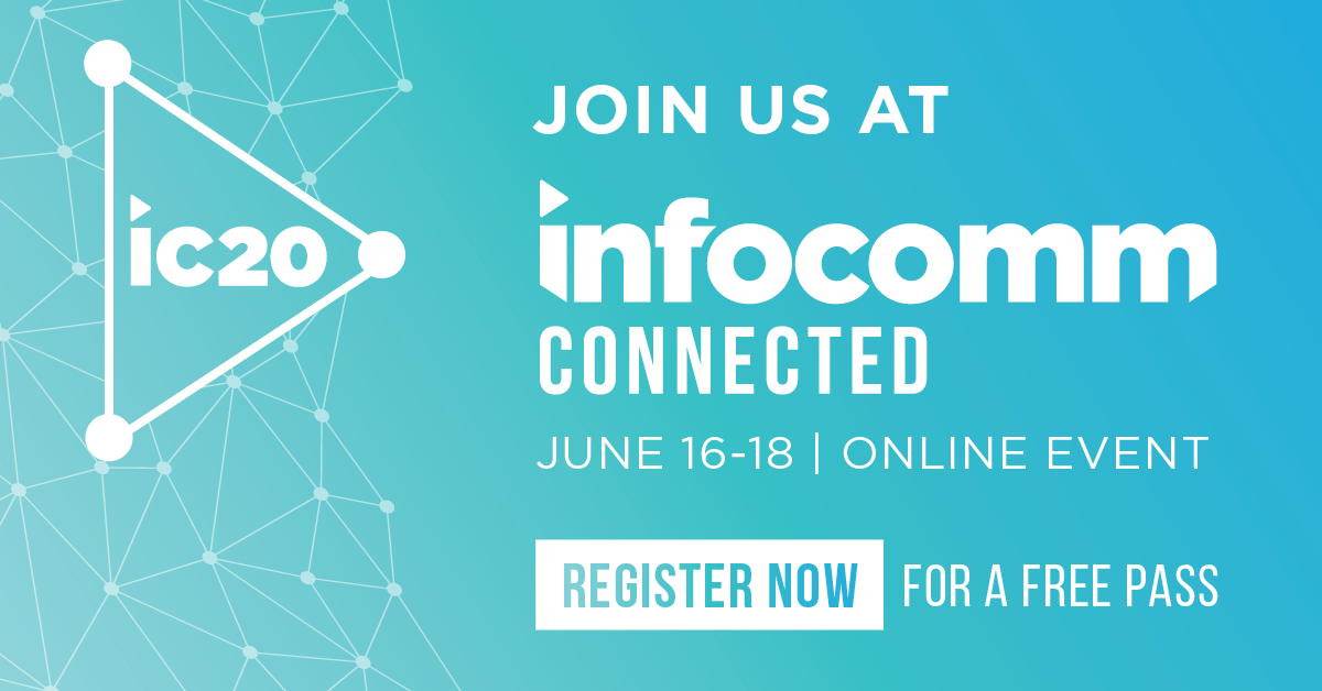 spinetix at infocomm 2020 connected register now