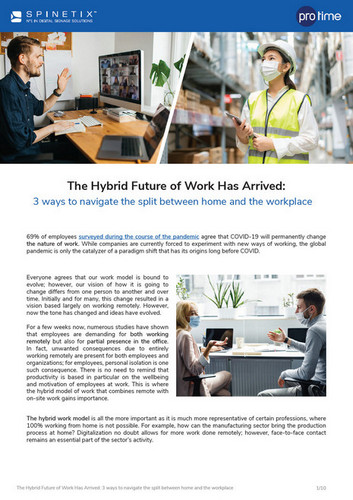 spinetix white paper the hybrid workspace