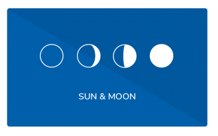 elementi sun and moon widgets