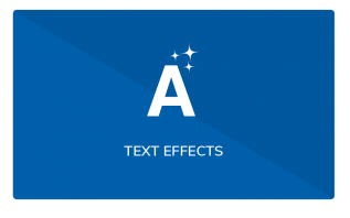 elementi text effects widgets