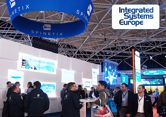 spinetix at integrated systems europe 2020