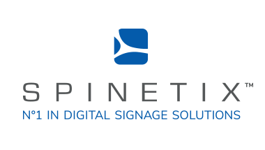 spinetix logo vertical