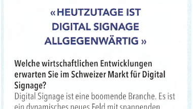 it-markt magazine article spinetix the future of digital signage march 2018
