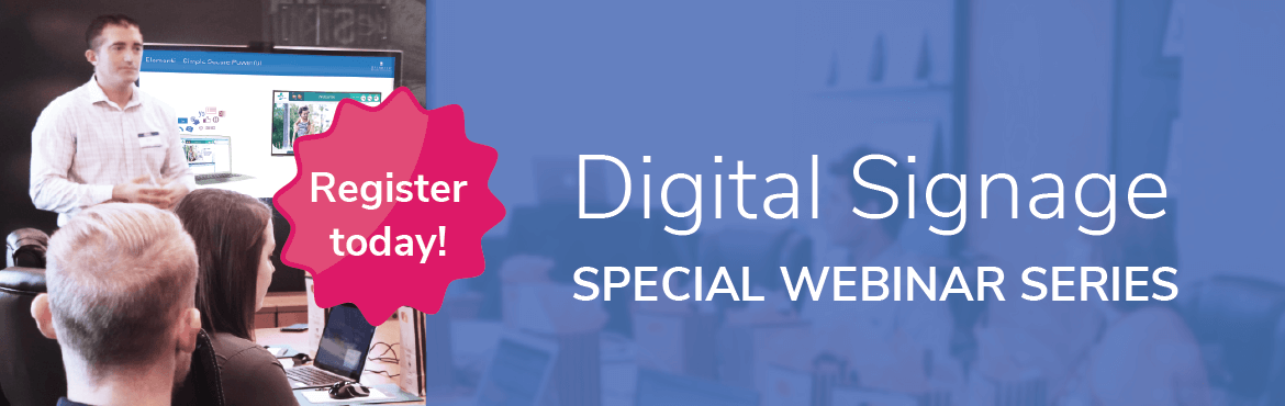 digital signage online training series from spinetix
