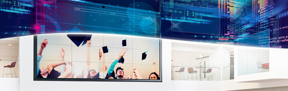 spinetix digital signage success stories in education, universities, and institutions